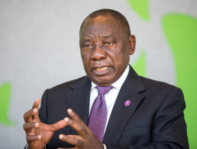 President Ramaphosa Determined to Nationalise South Africa