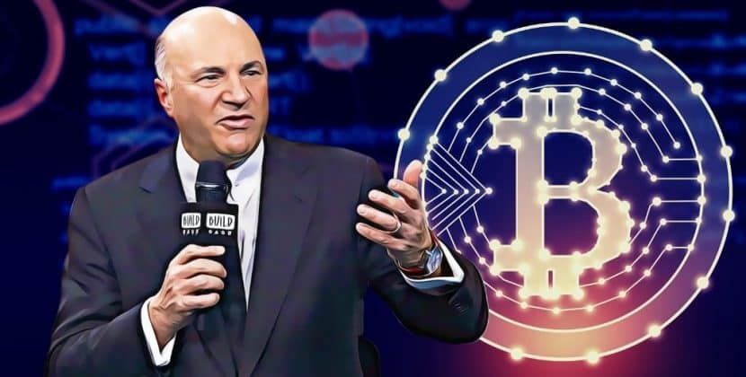 Shark Tank Investor Kevin O'Leary to Own Cryptocurrency ETF